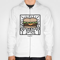 Pop Art Burger #1 Hoody
