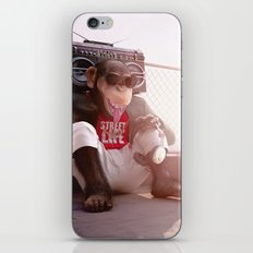 Monkey Beat iPhone & iPod Skin