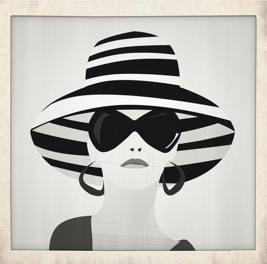 Snapshot (black & white) Art Print