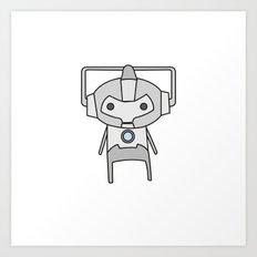 Cyberman Art Print