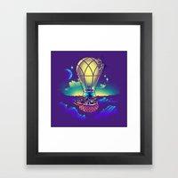Light Flight Framed Art Print