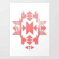 tribal Art Prints featuring Tribal by Molnár Roland