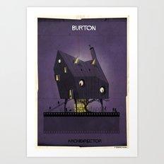 08_ARCHIDIRECTOR_tim burton Art Print