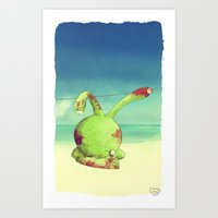 I Confused Things With T… Art Print
