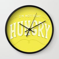 I'm Not That Hungry Wall Clock