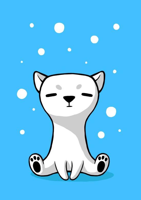 Polar Cub Art Print
