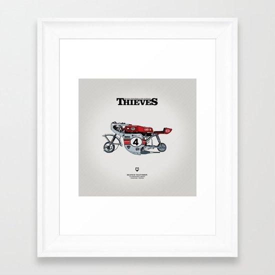 PRINT Nº009 Framed Art Print