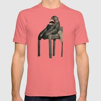 Monkey Mens Fitted Tee Pomegranate SMALL