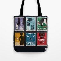 Bond #4 Tote Bag