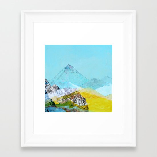 Mile High Framed Art Print