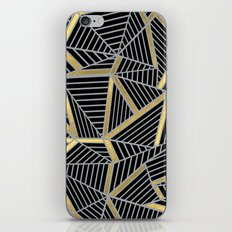 Ab 2 Silver and Gold iPhone & iPod Skin
