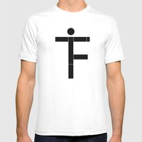 f.i.t Mens Fitted Tee White SMALL
