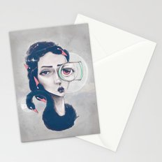Rare Royal through the looking glass Stationery Cards