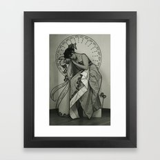 nouveau love. #1 Framed Art Print