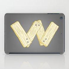 Alphabet W iPad Case