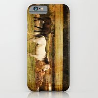 horses iPhone & iPod Cases featuring Horses by Christy Leigh
