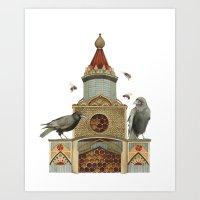 Of Hive and Home // Polanshek Art Print