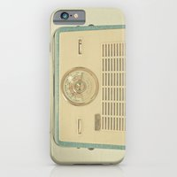 iPhone & iPod Case featuring Radio Days by Cassia Beck