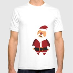 Merry Christmas! Mens Fitted Tee White SMALL
