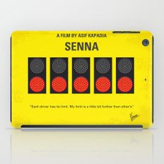 No075 My senna minimal movie poster iPad Case