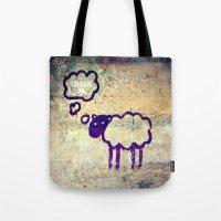 Urban Sheep Tote Bag