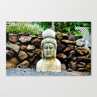 Bringing Matters To A He… Canvas Print