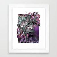 Feminism 2 Framed Art Print