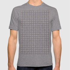 Berry Maze Mens Fitted Tee Athletic Grey SMALL