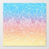 Bakana Rays Canvas Print