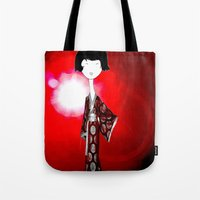 kimono Tote Bag