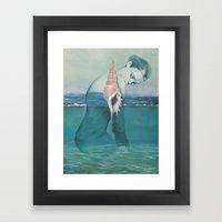 Amphibious Framed Art Print
