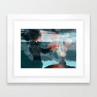 Altay teatime Framed Art Print