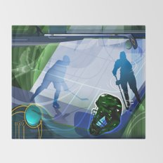 Hockey Throw Blanket