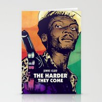 The Harder They Come Stationery Cards
