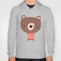 Christmas cute bears Hoody