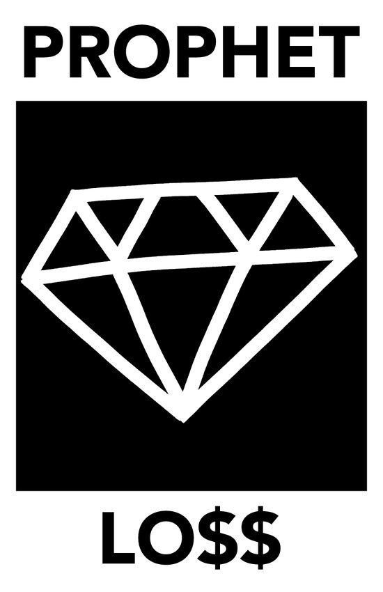 P&Ls: Diamond White Art Print