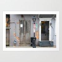 New Orleans Windows and Doors IV Art Print
