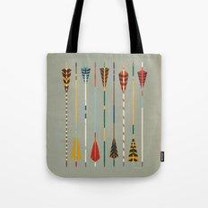 Vintage Arrows Tote Bag