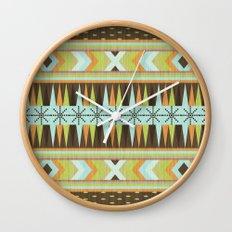 Patternista. Wall Clock
