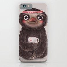 Sloth I♥yoga iPhone 6 Slim Case