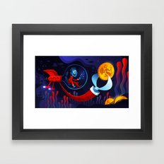 Underwater Adventure Framed Art Print