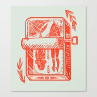 Little Fish Canvas Print