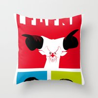 Legend Poster Throw Pillow