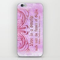Love Is A Smoke - Romeo … iPhone & iPod Skin