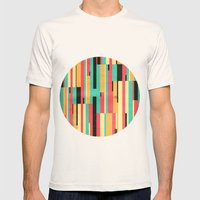 Kiko Pattern Mens Fitted Tee Natural SMALL