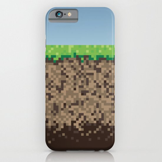 Minecraft Block iPhone & iPod Case