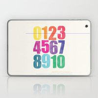 Numbers Laptop & iPad Skin
