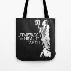 stairway to middle-earth Tote Bag