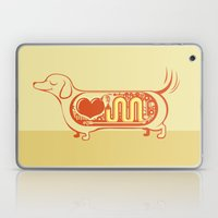 I Heart Sausage Dogs Laptop & iPad Skin