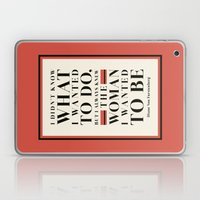 The Woman I Wanted To Be Laptop & iPad Skin
